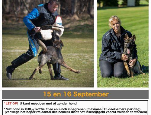 15+16 sept. | Seminar IPO – door Raymond & Joyce van Eck